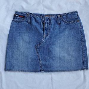 TOMY JEANS A line miniskirt size 9/straight skirt